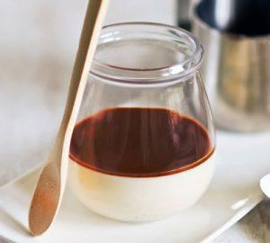 Η Πανακότα αποτελείται από μαγειρεμένη κρέμα γάλακτος και το όνομά της στα ιταλικά σημαίνει «ψημένη κρέμα» και είναι πολύ διαδεδομένο έδεσμα στα Επτάνησα.